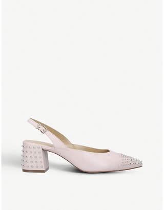 MICHAEL Michael Kors Mila leather sling-back sandals