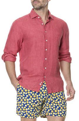 Rodd & Gunn Men's Harris Bay Linen Sport Shirt