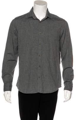 Massimo Dutti Button-Up Woven Shirt