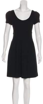 Diane von Furstenberg Short Sleeve Casual Dress