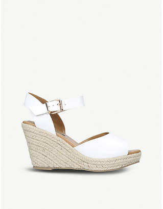 Miss KG Paisley espadrille wedge sandals