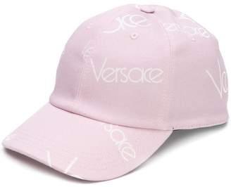 Versace logo cap