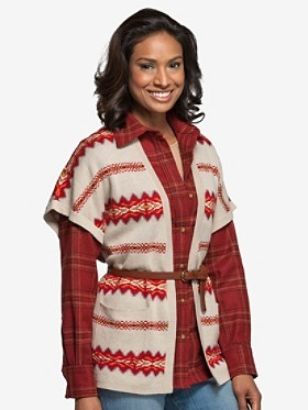 Pendleton Rock Creek Jacquard Cardigan