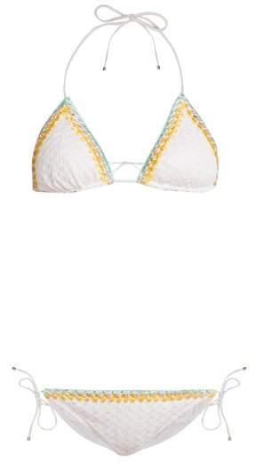 MISSONI MARE Ondina crochet-trim bikini