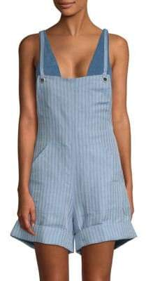 Mara Hoffman Dree Scoop Back Overall Shorts