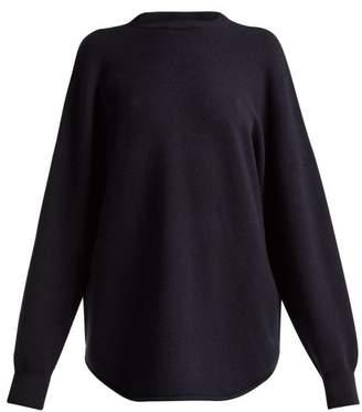 Extreme Cashmere - No. 53 Crew Hop Cashmere Blend Sweater - Womens - Navy