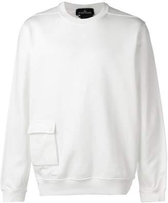 Stone Island Shadow Project pocket detail sweatshirt