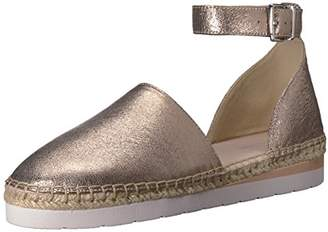 Kenneth Cole New York Women's Babbot Sporty Low Wedge Espadrille with Ankle Strap Sandal
