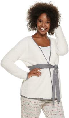 Sonoma Goods For Life Women's SONOMA Goods for Life Sherpa Bed Jacket
