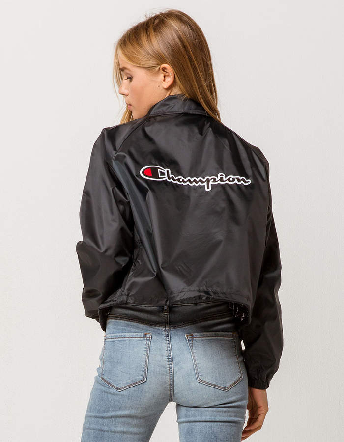 Champion Crop Womens Coach Jacket