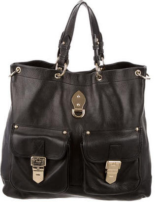 Mulberry Leather Satchel $475 thestylecure.com