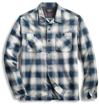 Ralph Lauren Plaid Cotton-Blend Workshirt