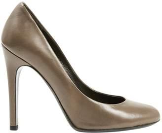 Halston Leather heels