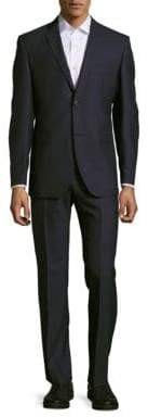 Saks Fifth Avenue Tonal Striped Woolen Suit