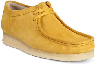Clarks Men's Wallabee Step Moccasin-Toe Oxfords $140 thestylecure.com