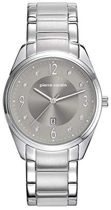Pierre Cardin Womens Analogue Classic Quartz Watch with Stainless Steel Strap PC107862F05