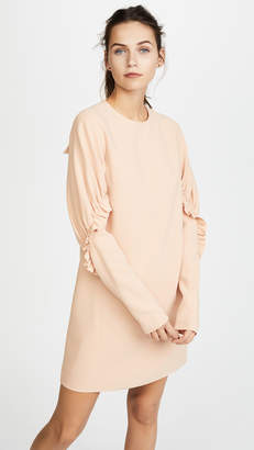 Tibi Short Ruffle Dress