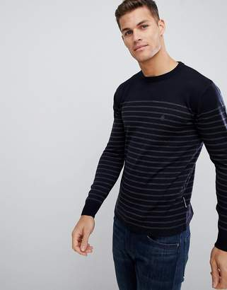 French Connection Breton Stripe Crew Neck Sweater