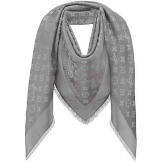 c17fe137fe7c Louis Vuitton Grey Scarves   Wraps For Women - ShopStyle UK