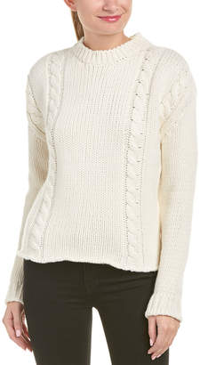 Anine Bing Chunky Wool-Blend Sweater