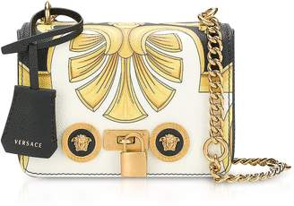 Versace Barocco Printed Leather Shoulder Bag