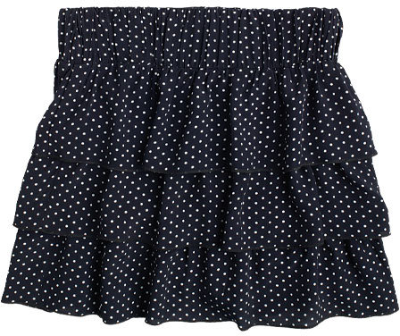 Lori Tiered Polka Dot Skirt