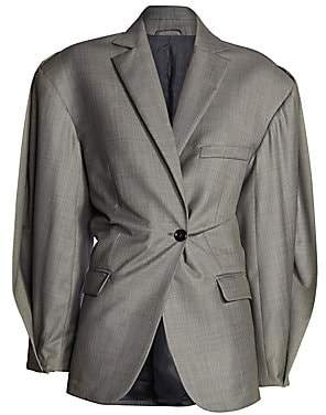 Acne Studios Women's Jaster Cinched Waist Suit Jacket