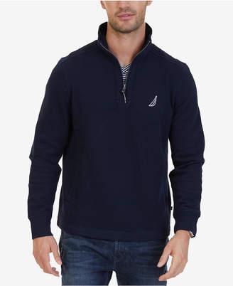 Nautica Men's Big & Tall Quarter-Zip Fleece Sweatshirt
