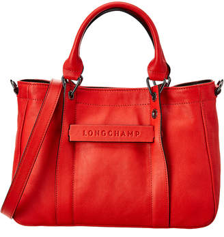 Longchamp 3D Small Leather Tote