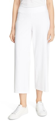 Eileen Fisher Wide Crop Yoked Pants
