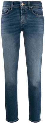 7 For All Mankind low rise straight-leg jeans