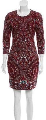 Haute Hippie Embroidered Mini Dress