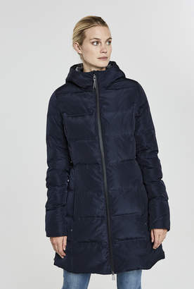Long Tall Sally Down Filled Polyluxe Hooded Puffer Coat