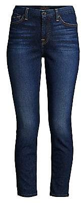 7 For All Mankind Jen7 by Women's Skinny Ankle Jeans