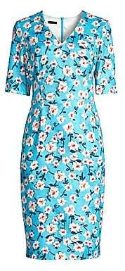 3a91b5a01746 Escada Women s Dnila Floral Sheath Dress