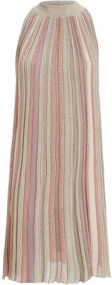 Missoni A-Line Striped Sleeveless Dress