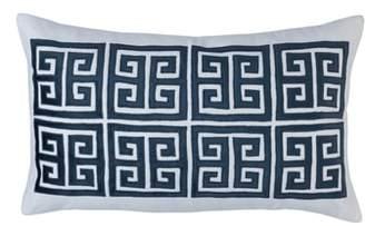 LILI ALESSANDRA Guy Velvet Basket Weave Large Accent Pillow