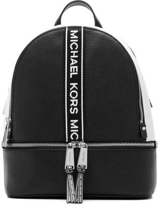 MICHAEL Michael Kors logo stripe backpack