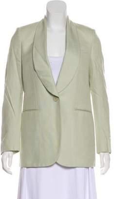 Stella McCartney Shawl-Lapel Button-Up Blazer