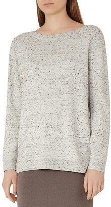 REISS Hester Flecked Sweater $180 thestylecure.com