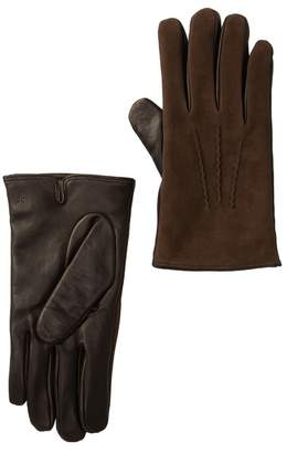 Frye Leather & Suede Weston Gloves