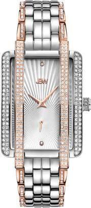 JBW Women's Mink .12 ctw Diamond Stainless Steel Watch J6358D