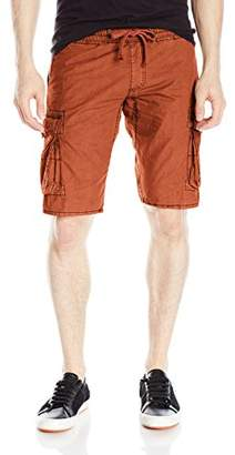 Jet Lag Men's Rib Waist Light Weight Cargo Short