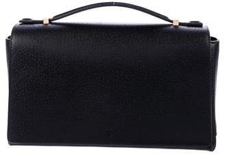 The Row Textured Leather Satchel