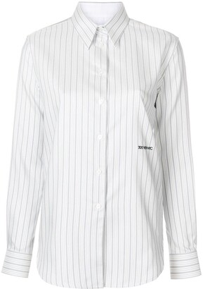 Calvin Klein striped long sleeved shirt