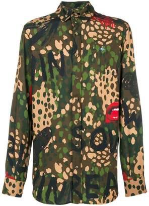 Vivienne Westwood camouflage print shirt