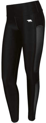 Running Bare Womens In the Zone High Rise Full Length Tights