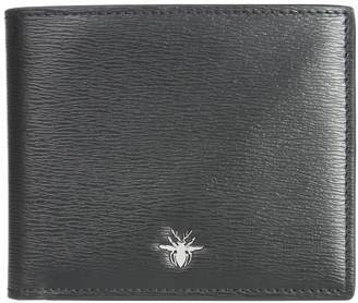Christian Dior Bifold Bee Wallet