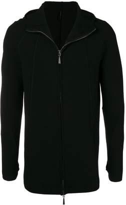 Masnada front zip long hoodie