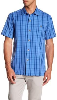 Tommy Bahama Rocco Plaid Original Fit Short Sleeve Shirt